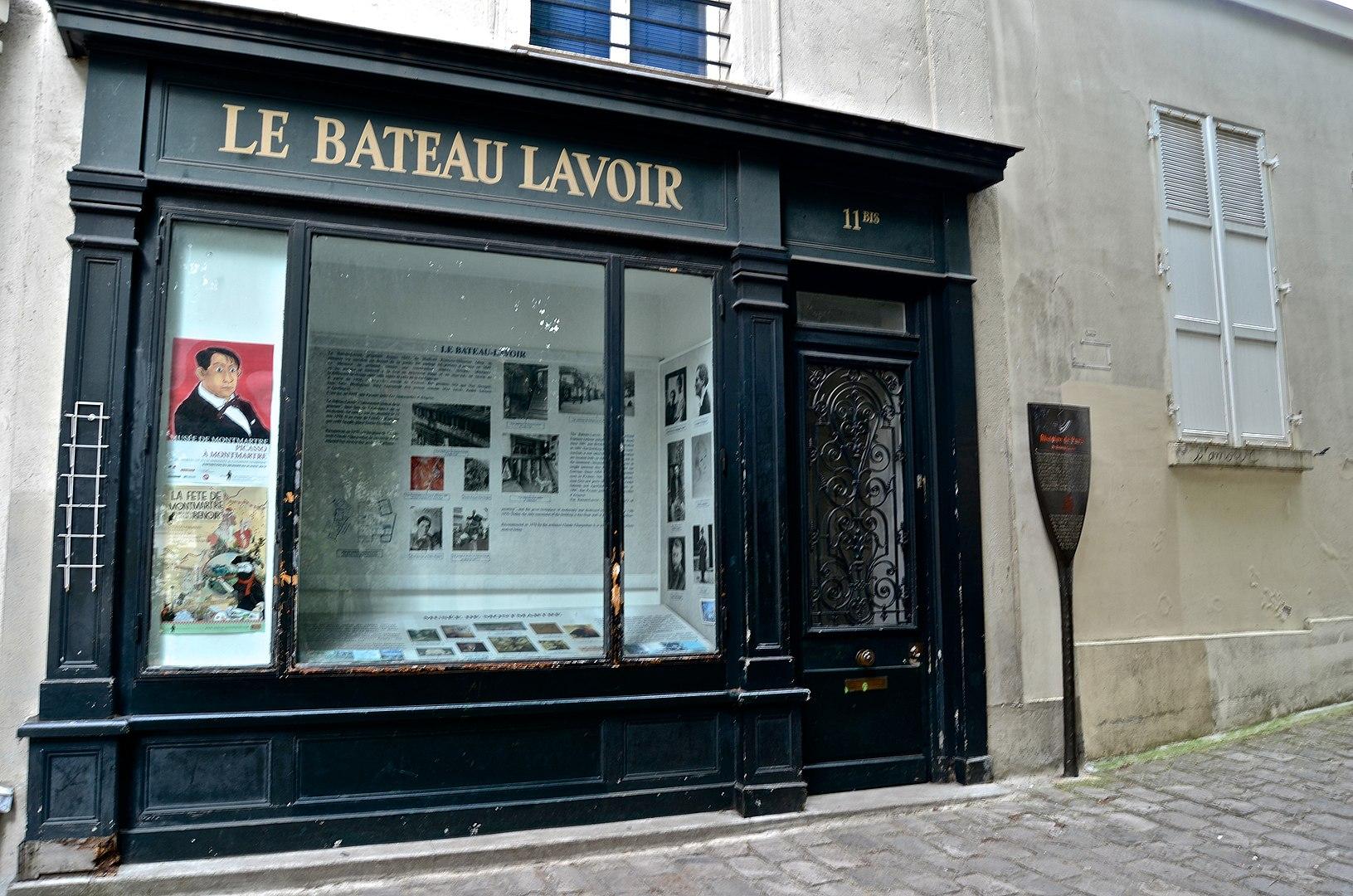 MyMontmartreTours - Bateau Lavoir