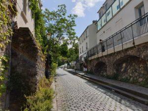 My Montmartre Tours - Cobblestone streets of Montmartre