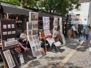 My Montmartre Tours - Place du Tertre Painters