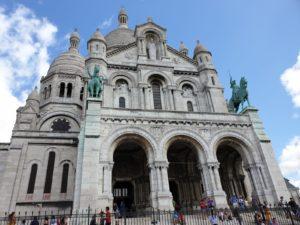 My Montmartre Tours - Sacré-Coeur Basilica front side